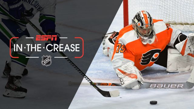 Mon, 2/4 - In the Crease: Hart leads Flyers past Canucks