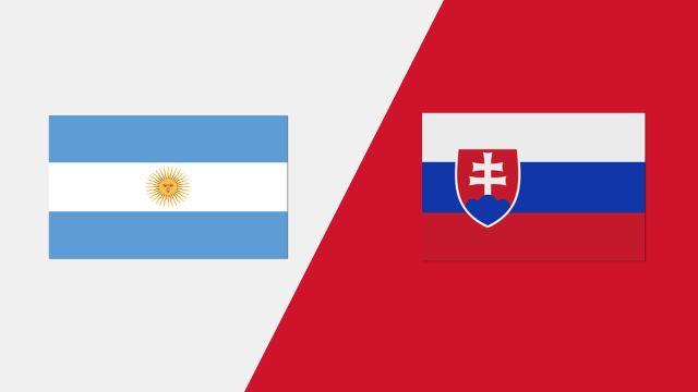 Argentina vs. Slovakia (2018 FIL World Lacrosse Championship)