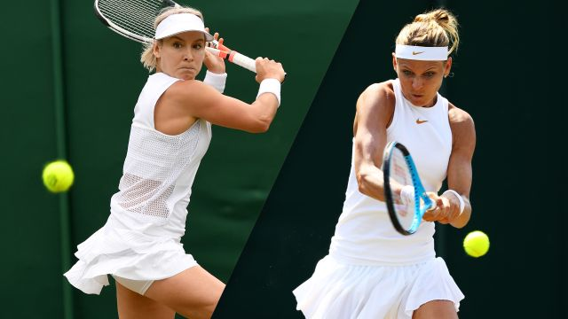 (2) Sestini Hlavackova/Strycova vs. Mattek-Sands/Safarova (Ladies' Doubles Third Round)