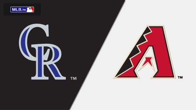 Colorado Rockies vs. Arizona Diamondbacks
