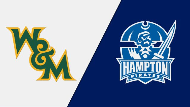 William & Mary vs. Hampton (M Basketball)