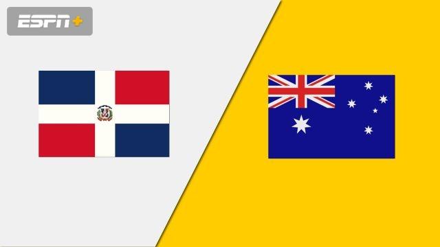 Dominican Republic vs. Australia (Group Phase)