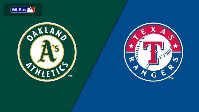 Oakland Athletics vs. Texas Rangers