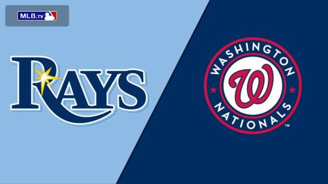 Tampa Bay Rays vs. Washington Nationals