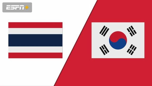 Thailand vs. South Korea