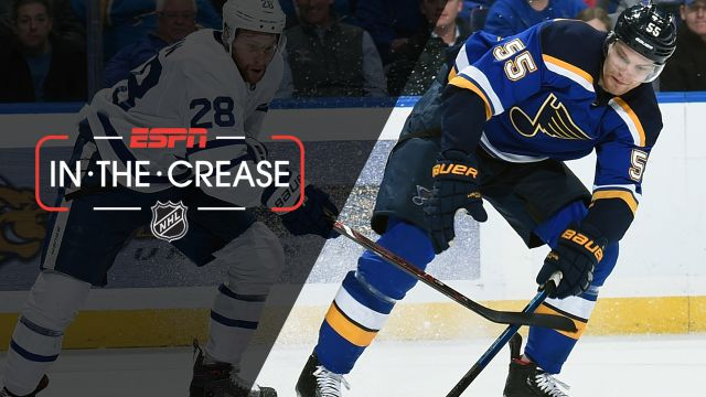 Tue, 2/19 - In the Crease: Blues look to win 11th straight