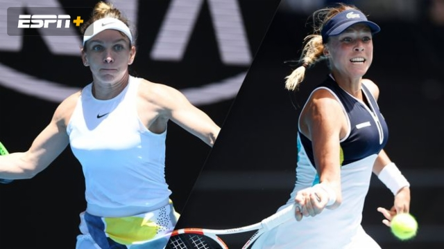 (4) Halep vs. (28) Kontaveit (Women's Quarterfinals)