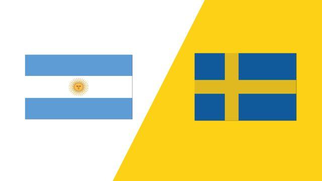 Argentina vs. Sweden (2018 FIL World Lacrosse Championships)