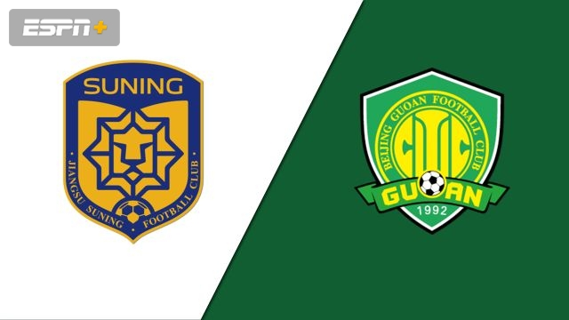 Jiangsu Suning FC vs. Beijing Sinobo Guoan (Chinese Super League)