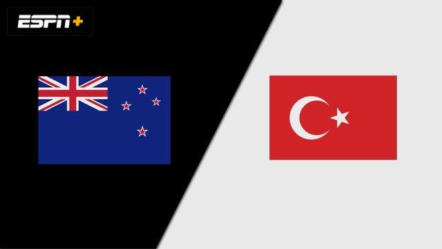 New Zealand vs. Turkey (Group Phase)