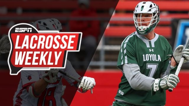 Tue, 5/14 - Lacrosse Weekly: NCAA quarterfinals set
