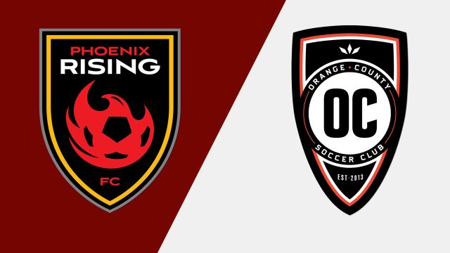 Phoenix Rising FC vs. Orange County SC