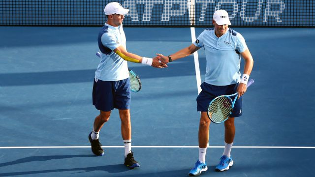 (4) Bryan/Bryan vs. Bolt/Polmans (Men's Doubles First Round)