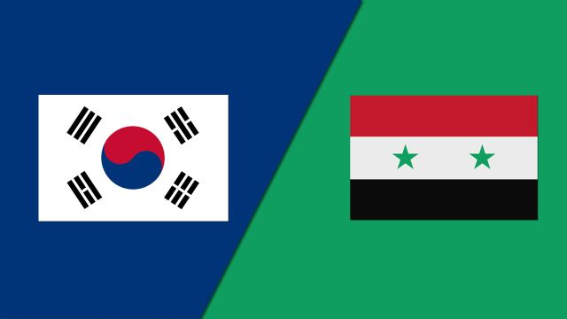 Korea vs. Syria (FIBA World Cup Qualifier)