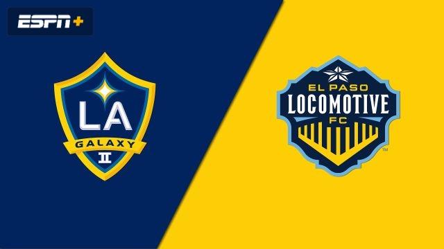 LA Galaxy II vs. El Paso Locomotive FC (USL Championship)