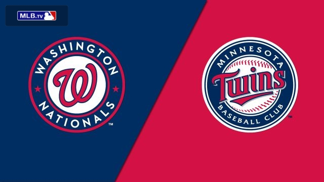 Washington Nationals vs. Minnesota Twins