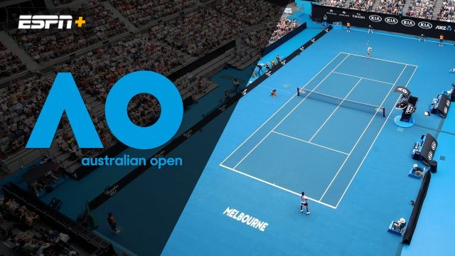 (23) Kyrgios vs. Sonego (Men's First Round)
