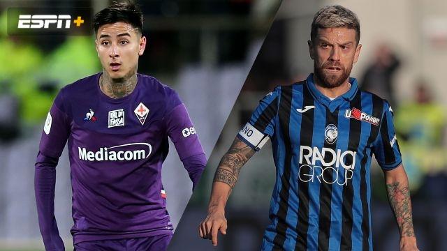 In Spanish-Fiorentina vs. Atalanta (Octavos de Final) (Coppa Italia)