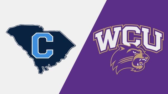 The Citadel vs. Western Carolina (W Volleyball)