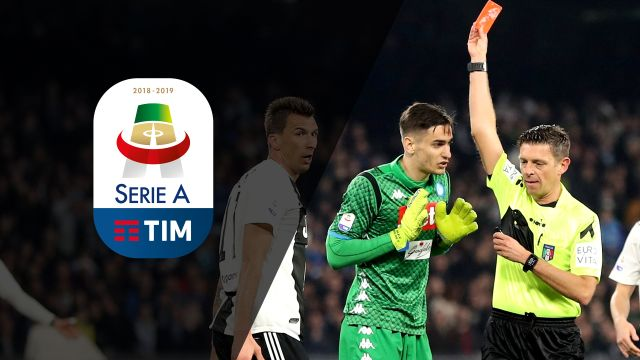 Sun, 3/3 - Serie A Weekly Highlight Show: Two red cards in Napoli vs. Juventus