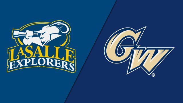 La Salle vs. George Washington (M Soccer)