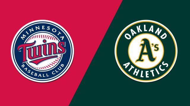 Minnesota Twins vs. Oakland Athletics