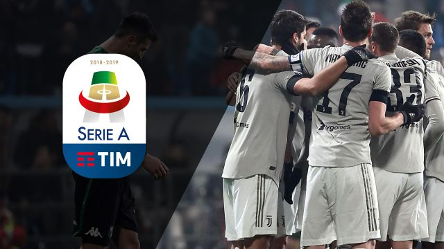 Sun, 2/10 - Serie A Weekly Highlight Show: Juventus & Sassuolo face off