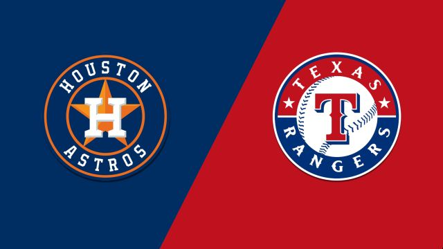 Houston Astros vs. Texas Rangers