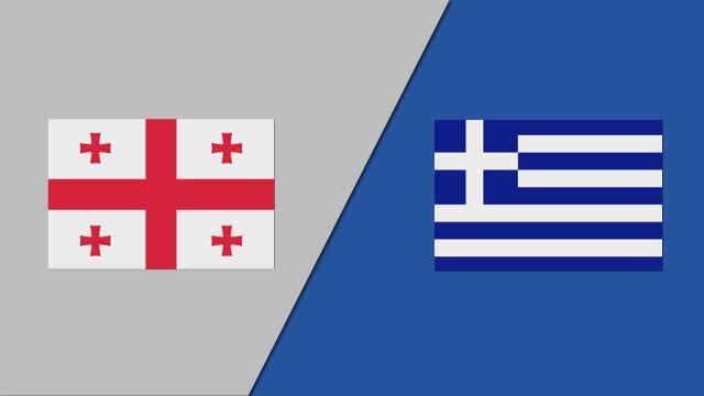 Georgia vs. Greece (FIBA World Cup Qualifier)
