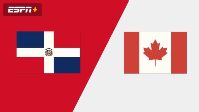 Dominican Republic vs. Canada