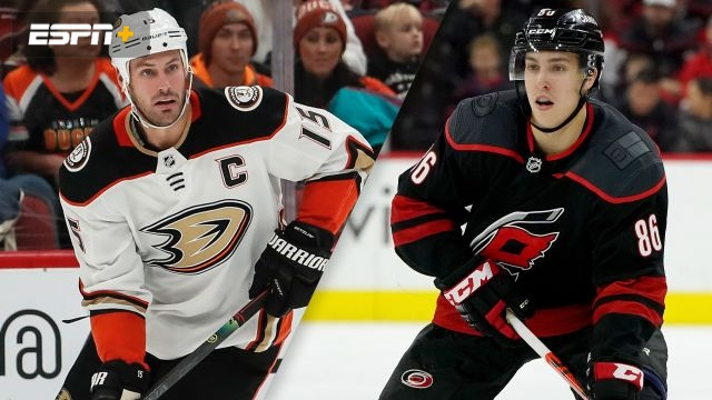 Anaheim Ducks vs. Carolina Hurricanes