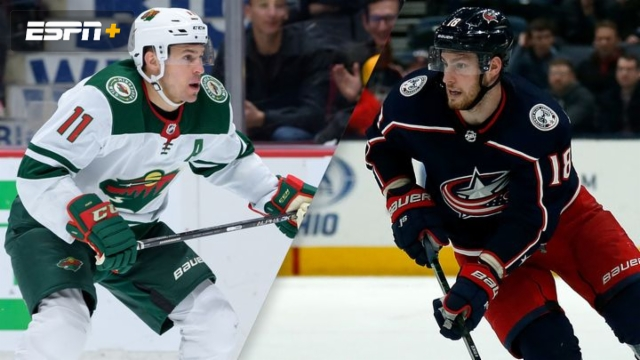 Minnesota Wild vs. Columbus Blue Jackets