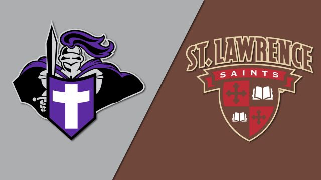 Holy Cross vs. St. Lawrence (M Hockey)
