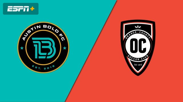 Austin Bold FC vs. Orange County SC (USL Championship)