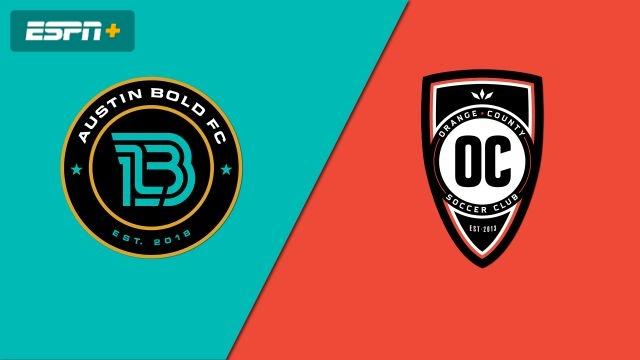 Austin Bold FC vs. Orange County SC (USL Championship)