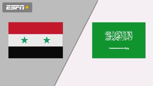 Syria vs. Saudi Arabia