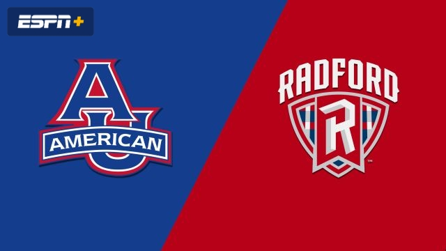 American vs. Radford (W Basketball)