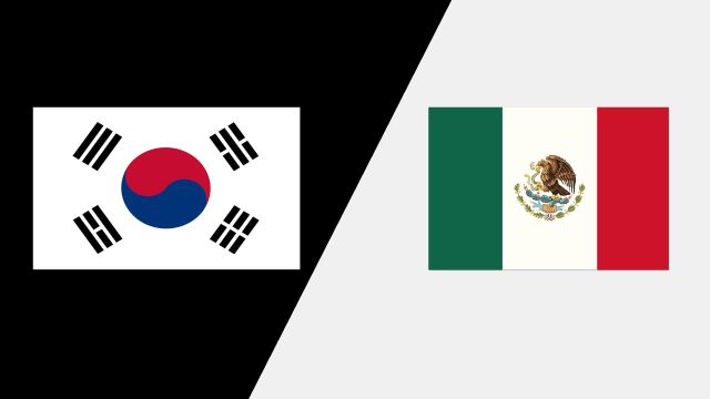 Korea vs. Mexico (2018 FIL World Lacrosse Championships)