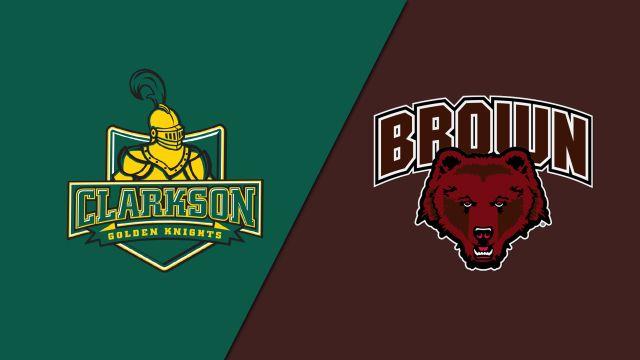 #3 Clarkson vs. Brown (W Hockey)
