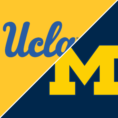 Follow live: UCLA, Michigan meet for fifth time in NCAAs, spot in Final Four on the line