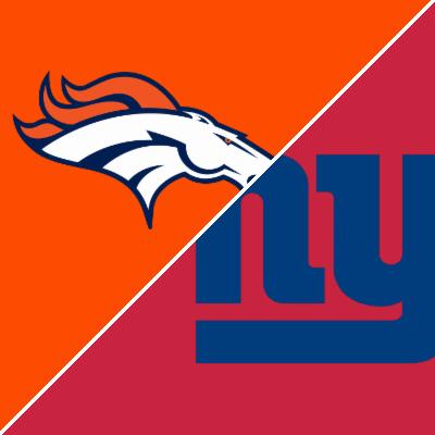 Broncos vs. Giants - Game Preview - September 12, 2021 - ESPN