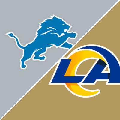 Follow live: Win-less Lions challenging Rams in L.A.